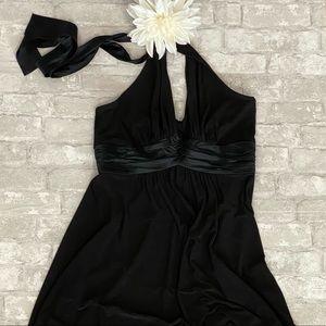 Jones New York Classic Halter Midi Dress EUC